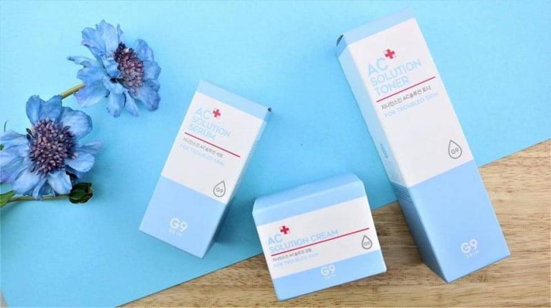 Bộ sản phẩm G9 skin AC solution