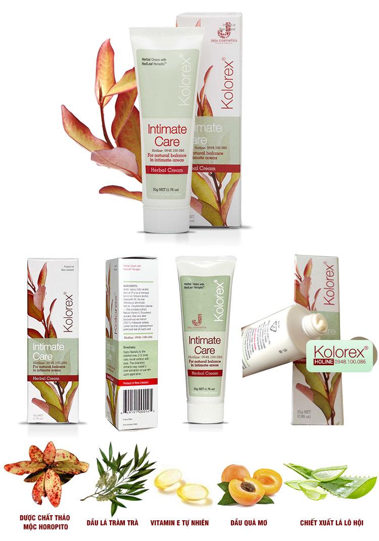 Bộ sản phẩm Kolorex chăm sóc và điều trị nấm Candida cho nam, nữ giới