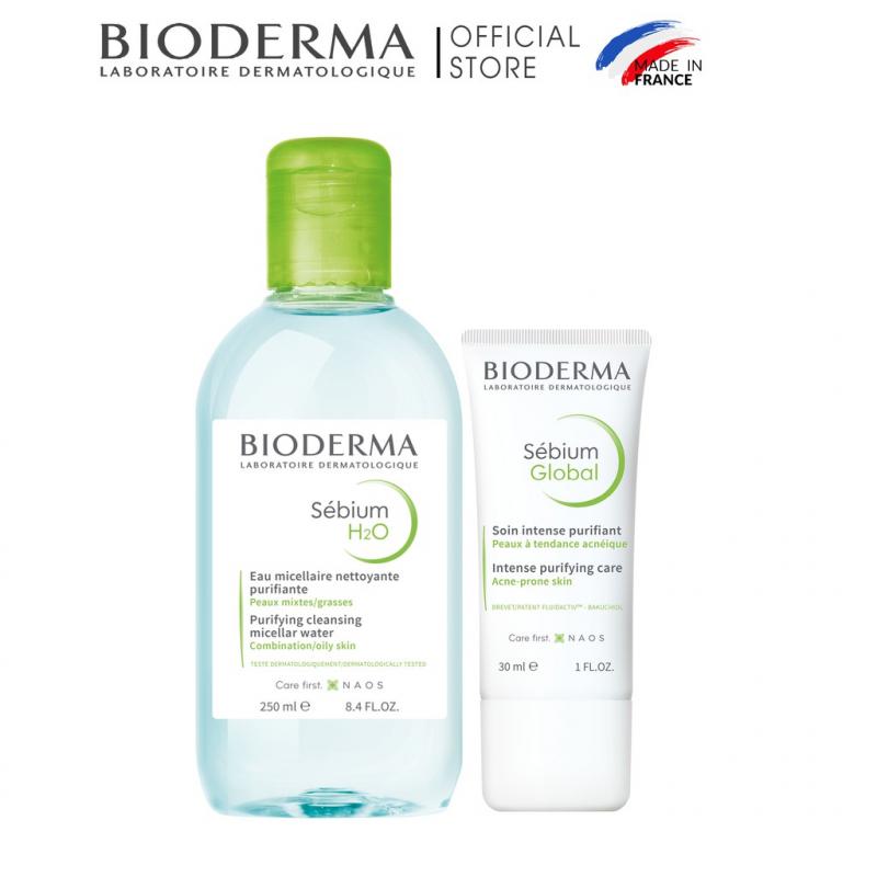 Bộ sản phẩm trị mụn Bioderma
