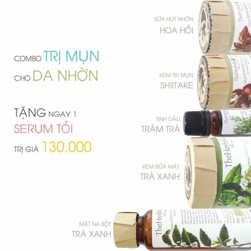 Bộ sản phẩm trị mụn của The Herbal Cup