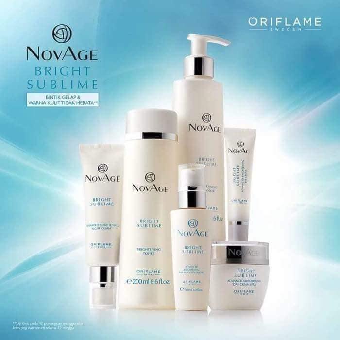 Bộ sản phẩm trị nám NOVAGE của Oriflame