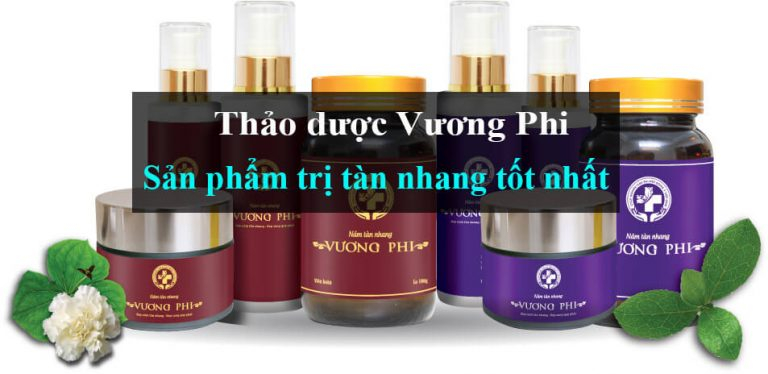 Bộ sản phẩm trị nám tàn nhang Vương Phi tinh chất thảo dược 100%