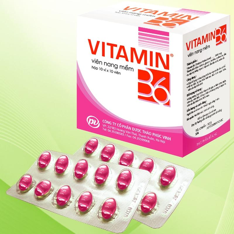 Bổ sung vitamin B6 trong thời gian mang thai