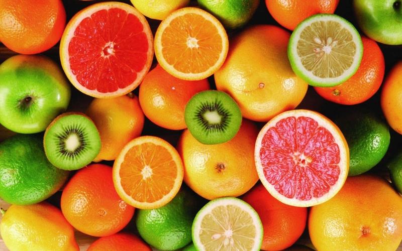 Trái cây giàu axit
