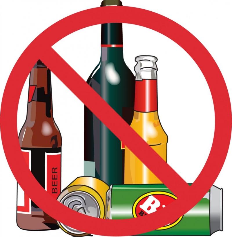 Hạn chế uống rượu bia và sử dụng các chất kich thích, chất có cồn