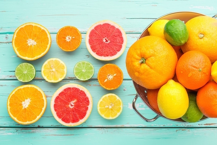 Các loại quả giàu vitamin C kích thích quá trình sran xuất collagen