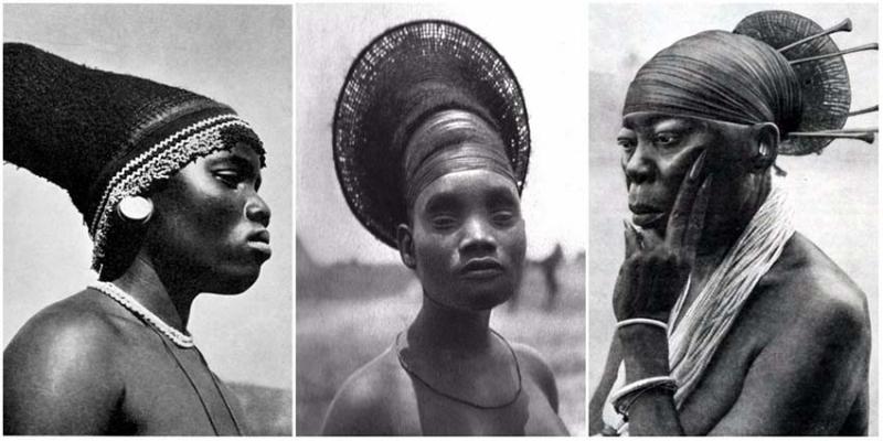 Bộ tộc đầu dài ở Congo
