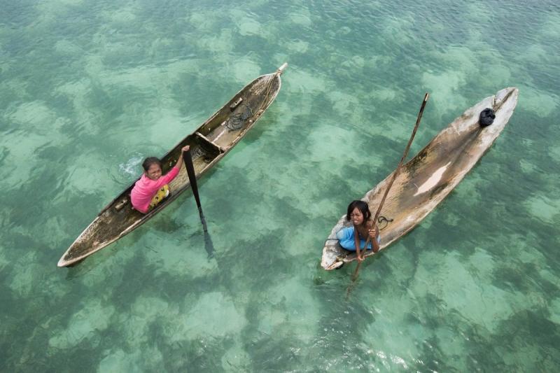Bộ tộc người cá ở Malaysia