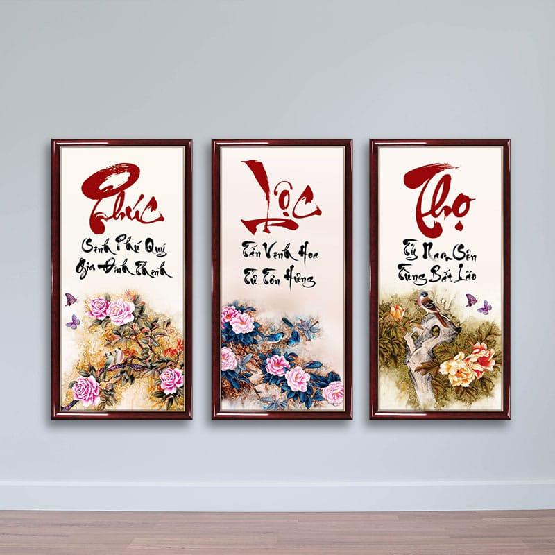 Tặng bộ tranh treo tường cho bố mẹ vào dịp Tết mang nhiều ý nghĩa