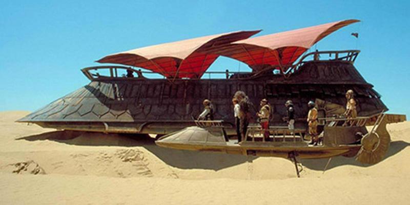Phi thuyền của Jabba - Star Wars VI