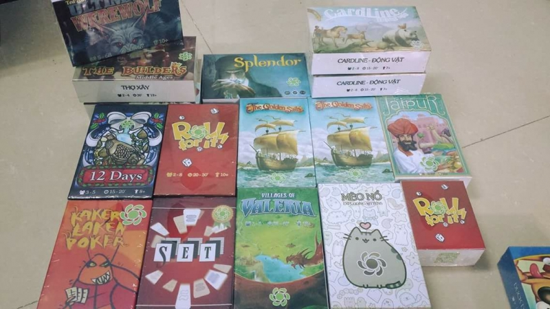 Một số Board Game mới