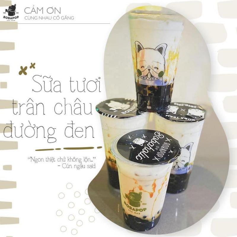 Bobapop - Taiwan Lattea 61 Hàng Lược