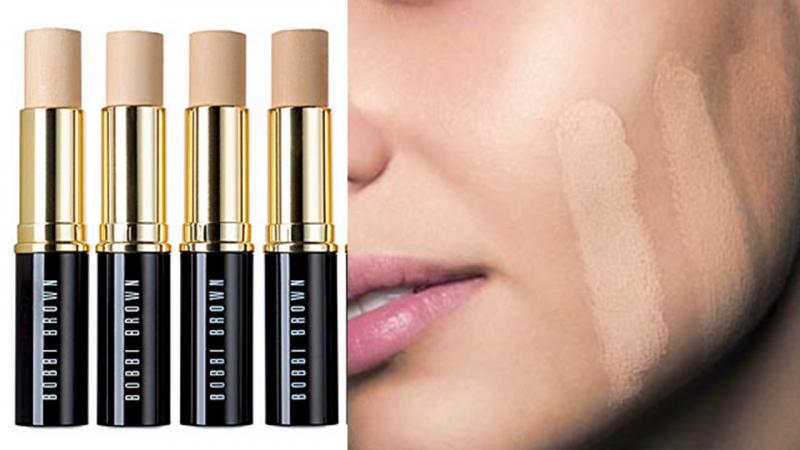 Bobbi Brown Skin Foundation Stick với độ che phủ tốt phù hợp với nhiều tông da