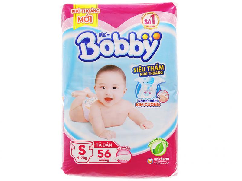 Tã Bobby siêu mềm cho bé