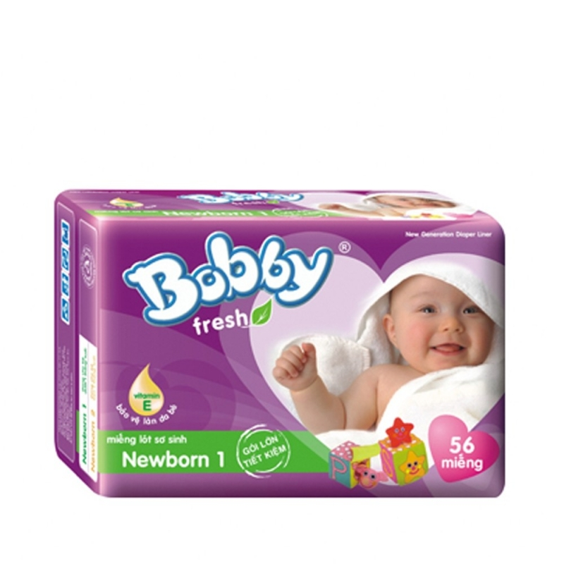 Bobby là thương hiệu tã giấy nội địa Việt Nam được nhiều bà mẹ tin dùng