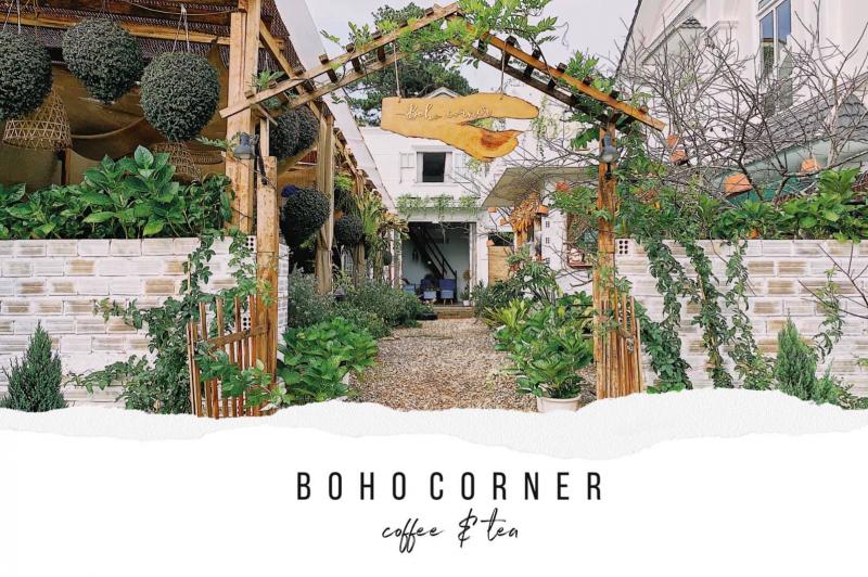 Boho Corner được bao phủ bởi hệ thực vật đa dạng với sắc xanh tươi mát