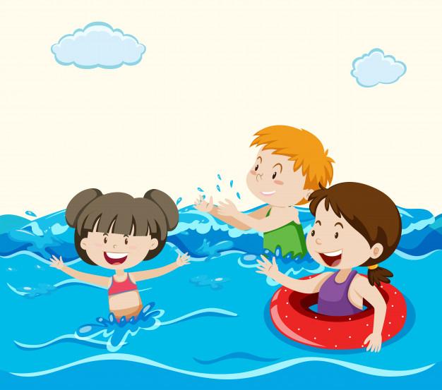 Bơi lội là một kỹ năng thiết yếu mà trẻ nên học dù nhà không ở vùng sông nước