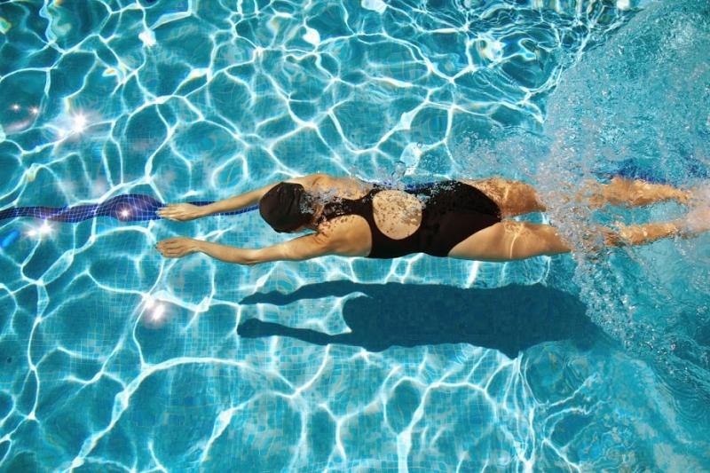 Bơi lội giúp tăng vòng ba hiệu quả