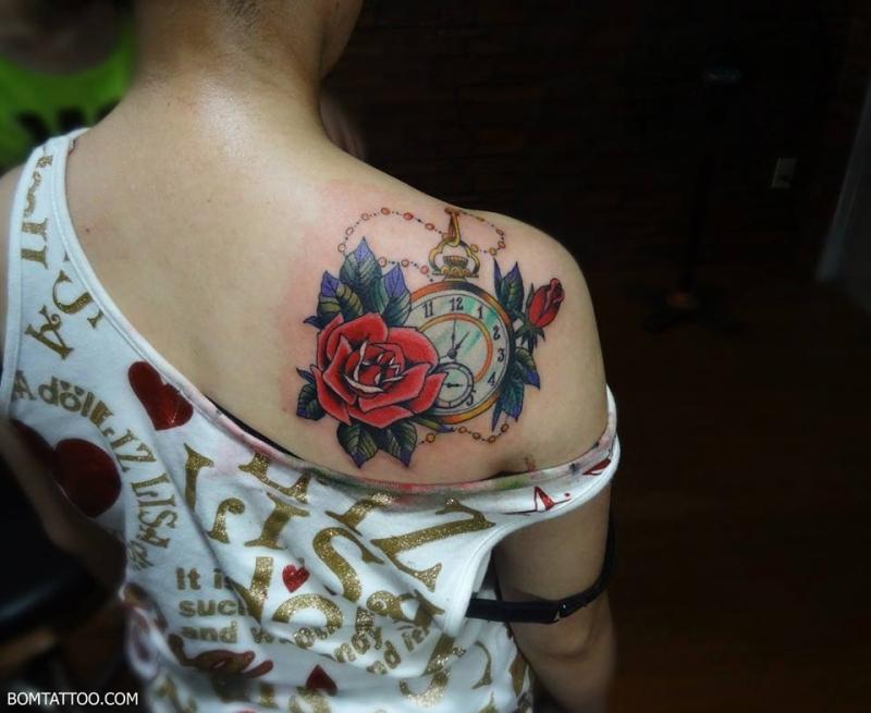 Hình xăm nghệ thuật của BOM Tattoo