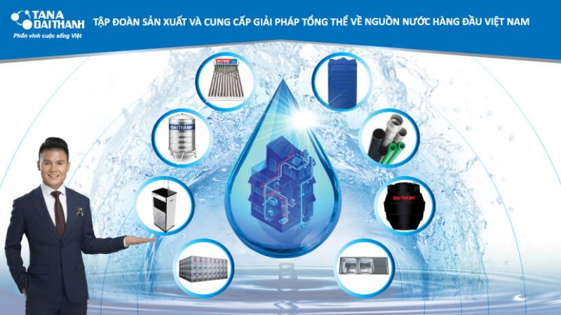 Bồn chứa nước Inox Đại Thành