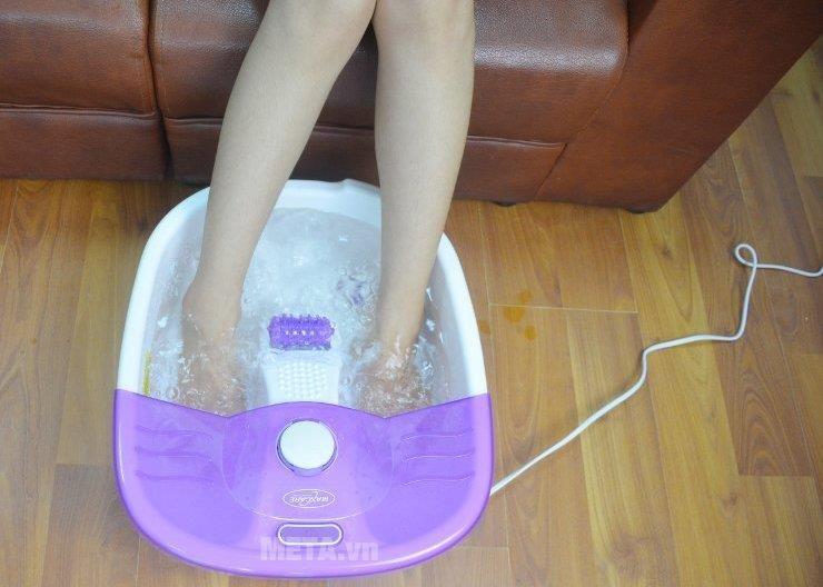 Bồn ngâm massage chân Max-641C mang lại những lợi ích tuyệt vời