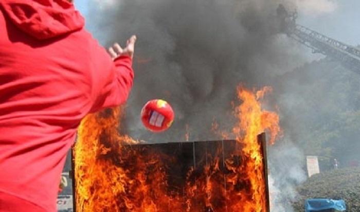 Bóng chữa cháy Elide Fire Ball