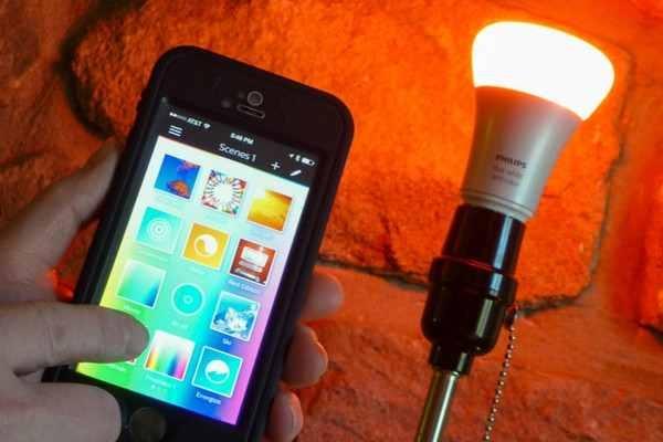 Bóng đèn led thông minh không dây
