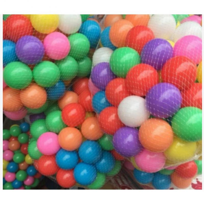 Bóng nhựa nhiều màu sắc