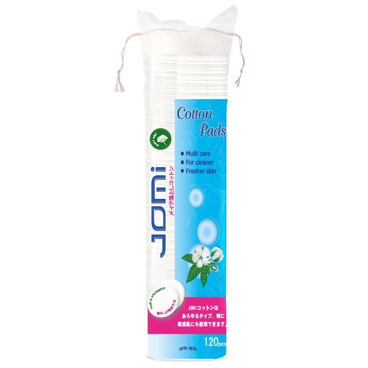 Bông tẩy trang Jomi chính là sản phẩm không thể thiếu trong tủ mỹ phẩm của các cô gái