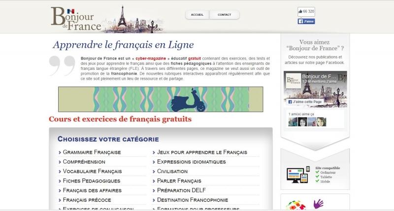 Đây là trang web mà bất kì ai khi bắt đầu học tiếng Pháp cũng đã từng học qua