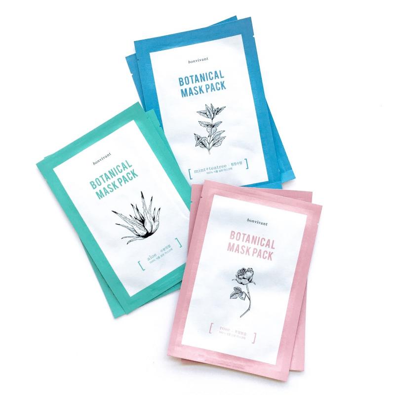 Bonvivant Botanical Pure Mask Pack
