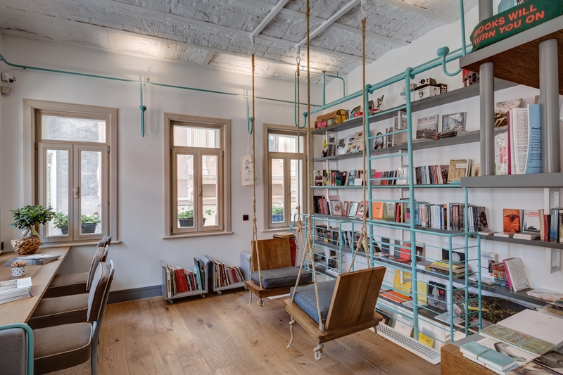 Book coffee shop