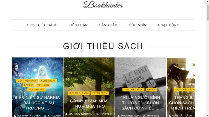 Bookhunterclub.com  - hội của những kẻ săn sách