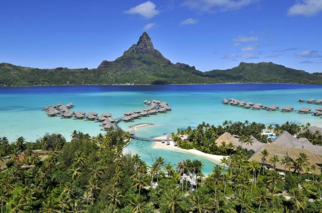 Bora Bora - điểm hẹn lý tưởng cho các cặp tình nhân