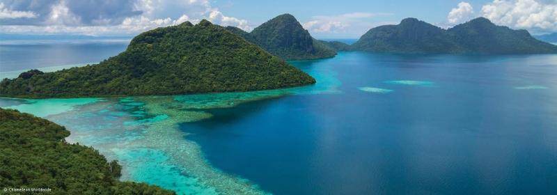 Đảo Borneo nắm giữ vị trí thứ 3 trong danh sách những đảo lớn nhất thế giới.
