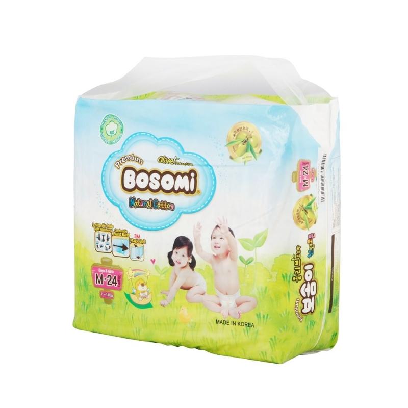 Bosomi là thương hiệu tã giấy Hàn Quốc