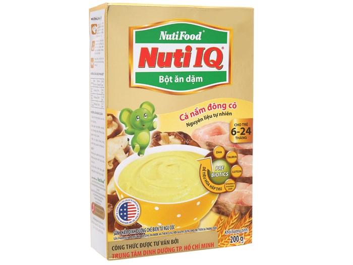 Bột ăn dặm NutiFood Gạo sữa 200g