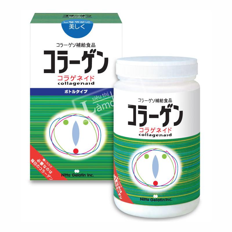 Bột Bổ Sung Collagen Aid Nitta Gelatin Cao Cấp Nhật Bản