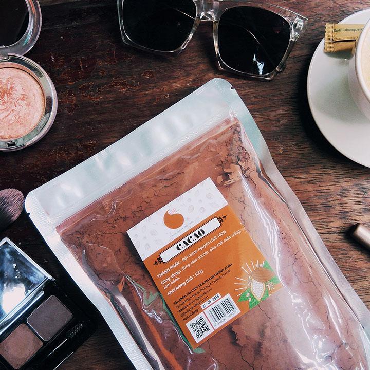 Bột ca cao nguyên chất Light Cacao