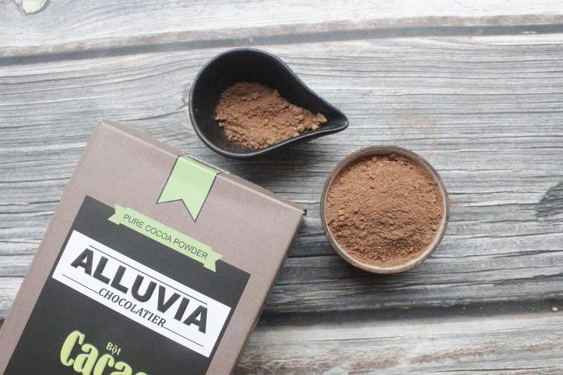 Bột ca cao nguyên chất Alluvia