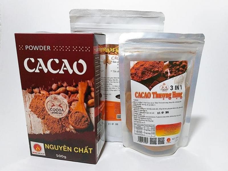 Bột cacao nguyên chất Đà Nẵng