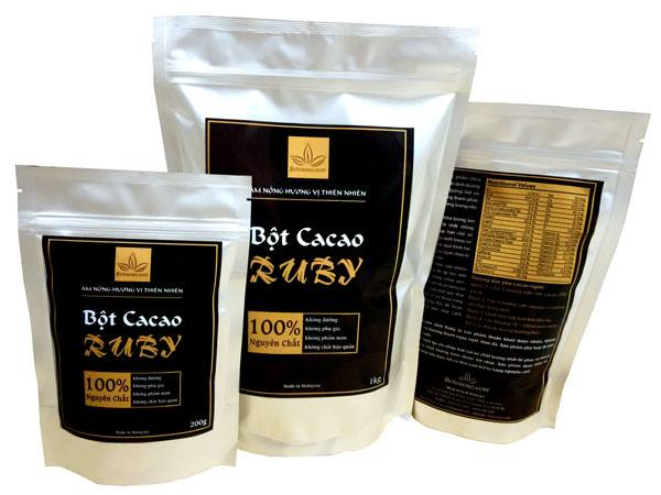 Bột cacao nguyên chất RUBY