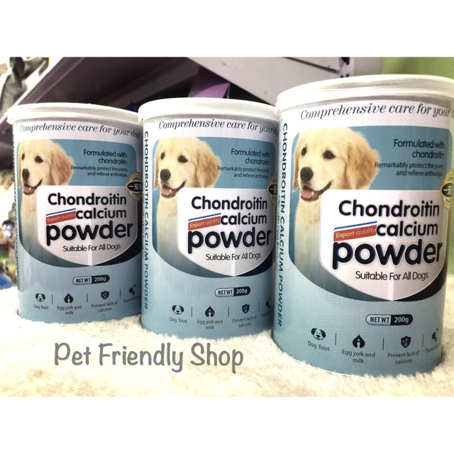 Bột dinh dưỡng canxi cho chó mèo – Chondroitin Calcium Powder