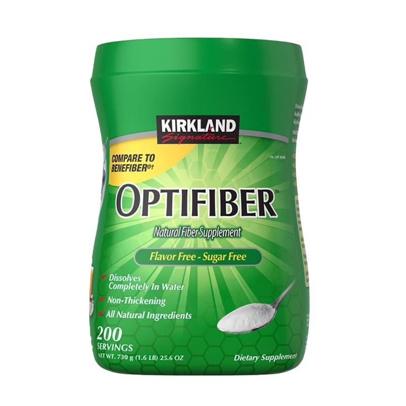 Bột hòa tan bổ sung chất xơ Kirkland Optifiber 200 khẩu phần