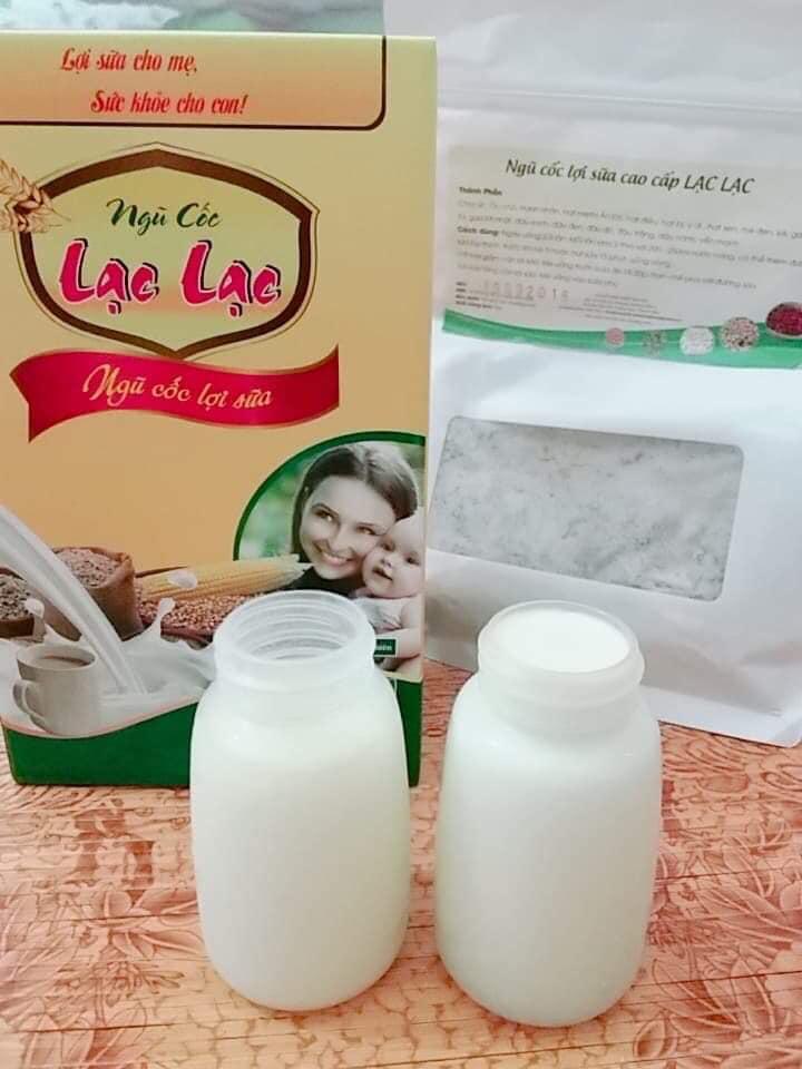 Bột ngũ cốc lợi sữa Lạc Lạc