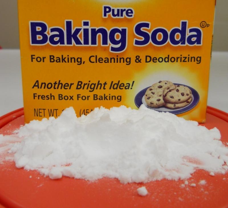 Ảnh Baking Soda ở nhà mình nhé!