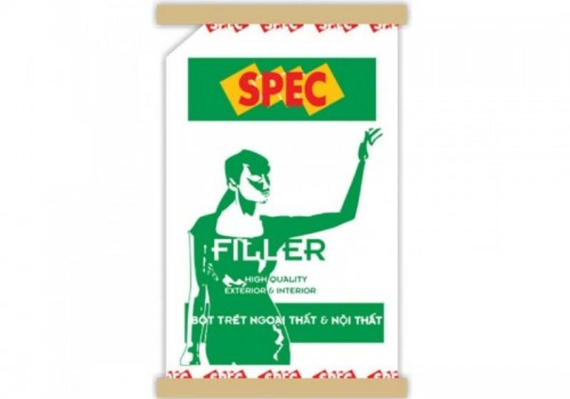bột trét tường nội ngoại thất Spec Hi - Filler