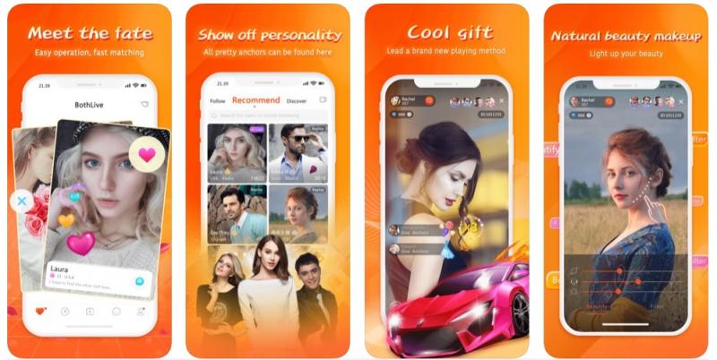 Ảnh 1 - Điểm mạnh của app hẹn hò Bothlive là hệ thống bảo mật vô cùng cao