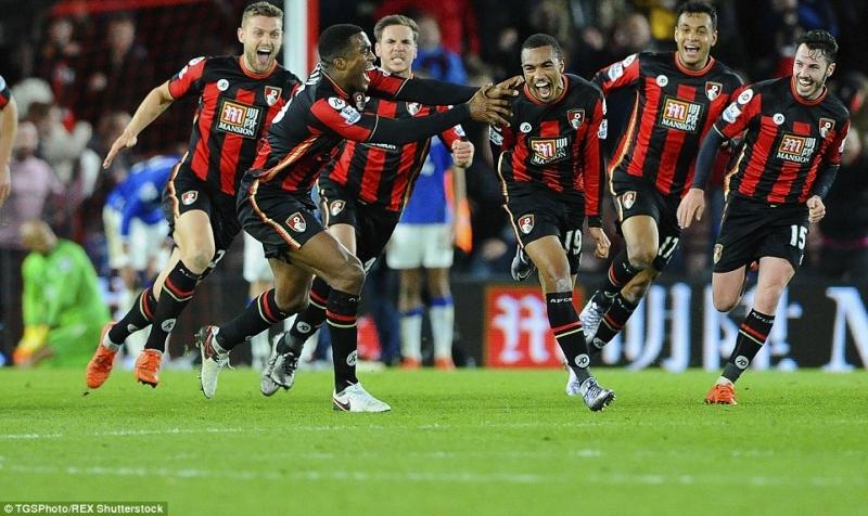 Bournemouth thi đấu rất cống hiến