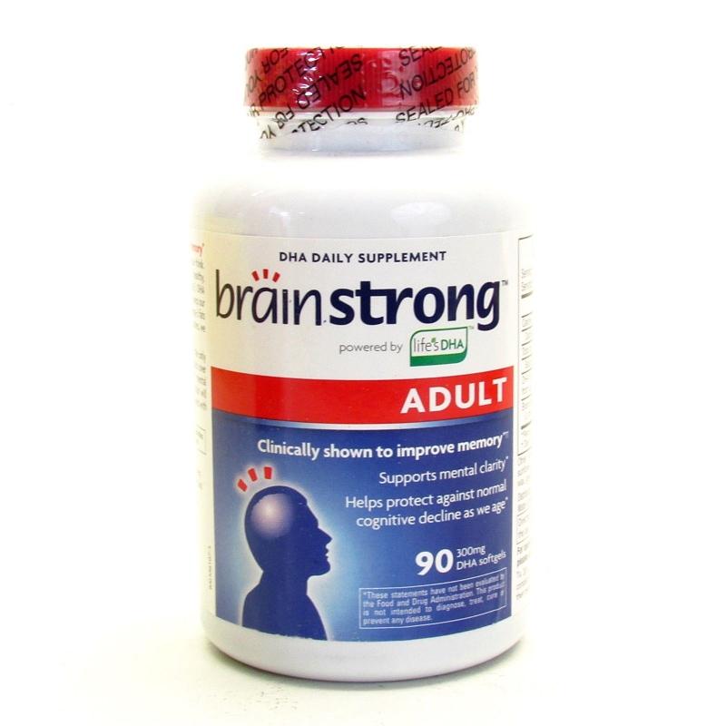 Ảnh thực phẩm chức năng Brain Strong Adult DHA